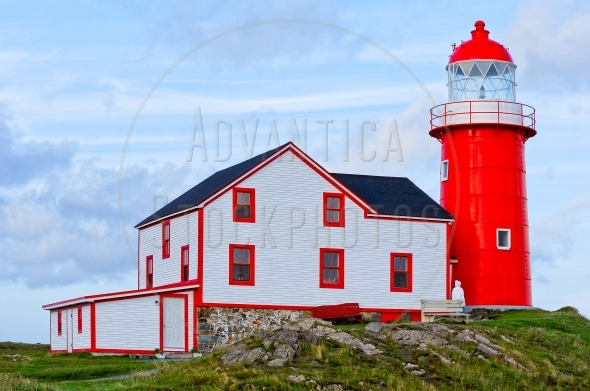 Ferryland lighthouse in Newfoundland