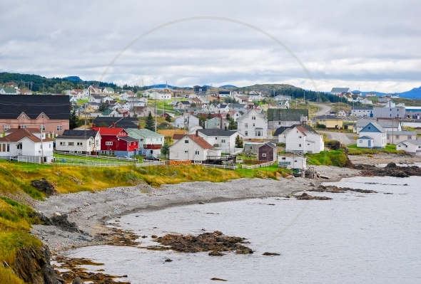 Town of Twillingate in Newfoundland