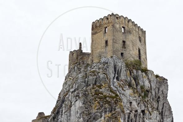 Old castle ruins – Hrad Beckov in Slovakia