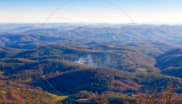 Blue Ridge Mountains – aerial view