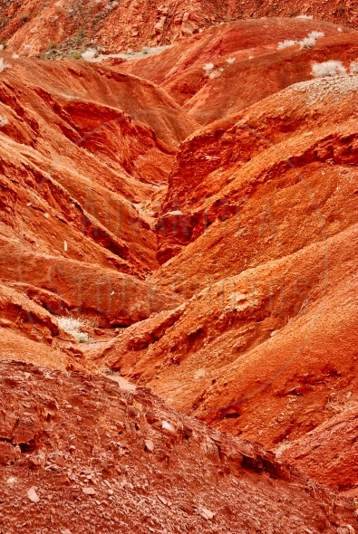 Red hills in Valley Of Fire, Nevada