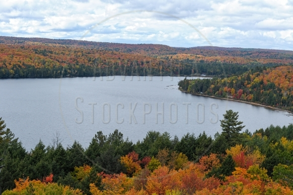 Rock Lake in Algonquin Park, Ontario